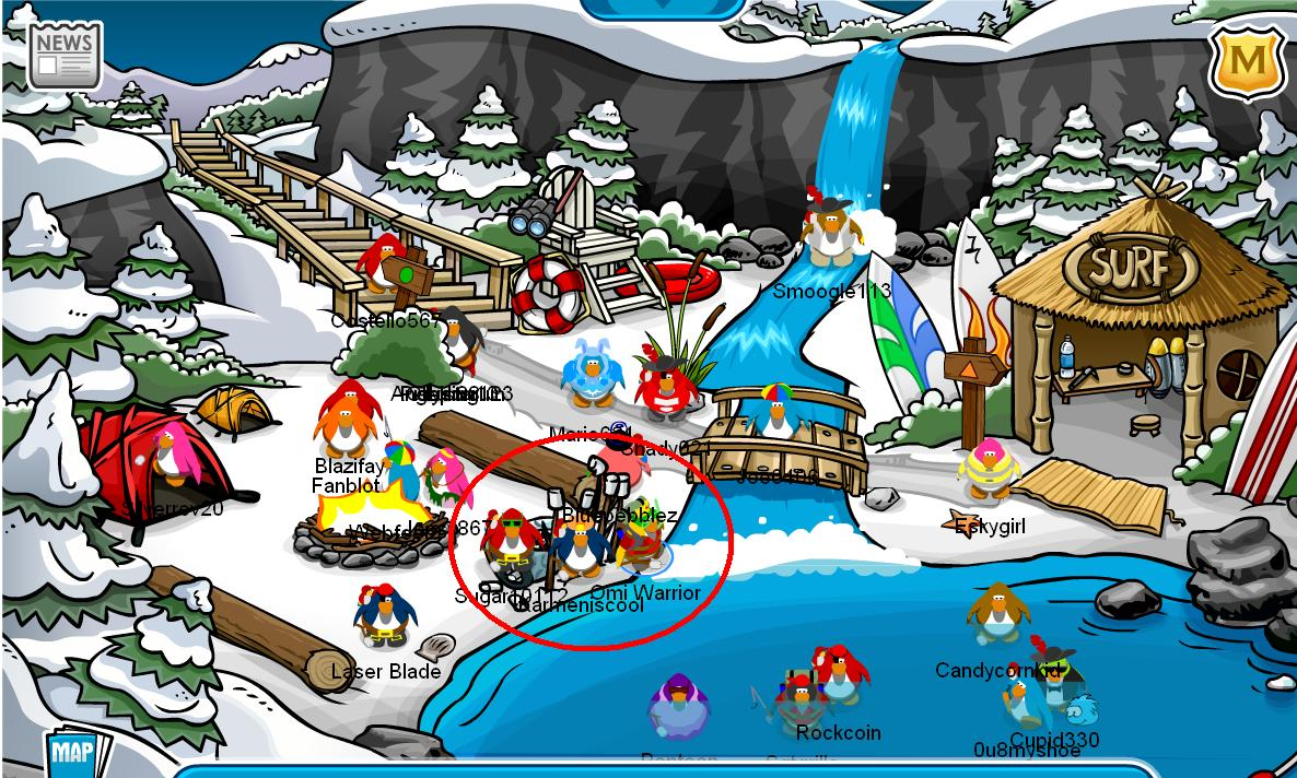 H Club Penguin Multiplayer onl...