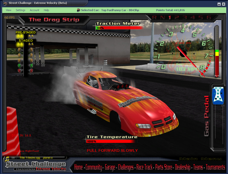 3d car raceing game