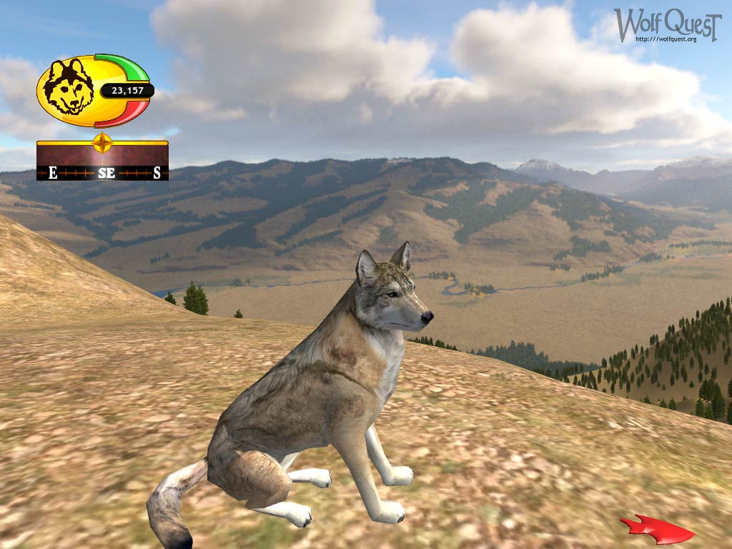play as a wolf game